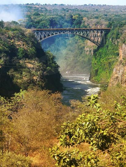 Bridge at Victoria falls photo