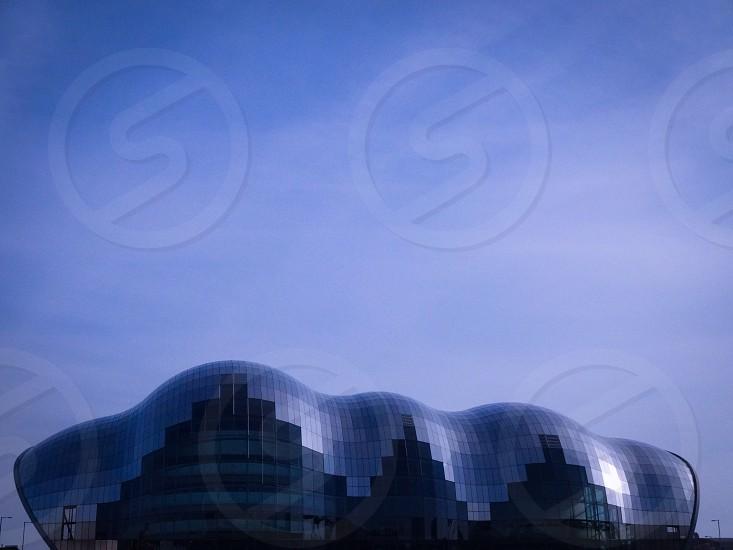 Nice curvy shaped building photo