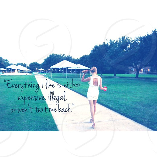 woman in white sleeveless midi dress near white tent during daytime with text overlay photo