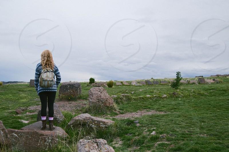 Sillustani Ruins - Peru photo