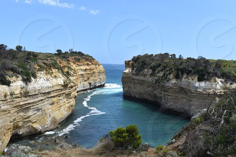 I took these photos at the twelve apostles in Australia. photo