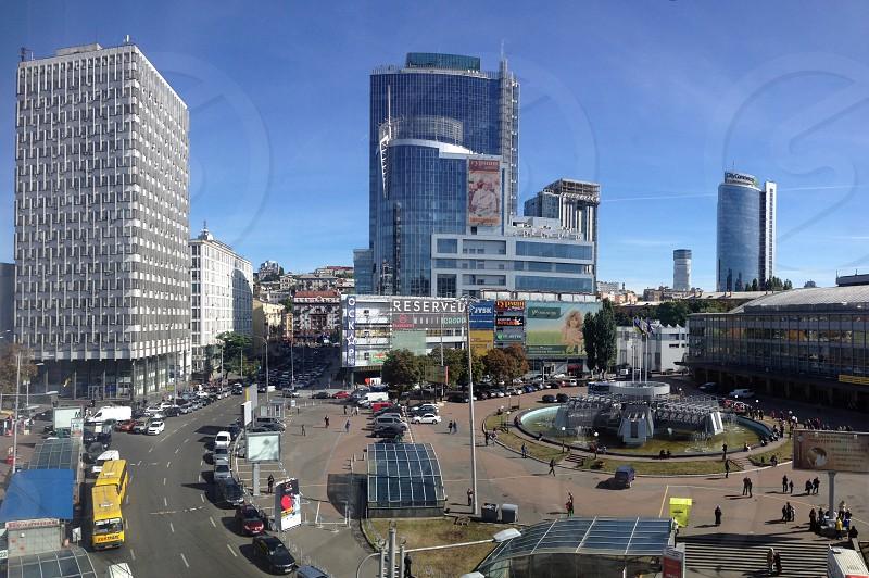 Kiev city street photo