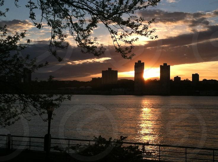 Sunset and skyline photo