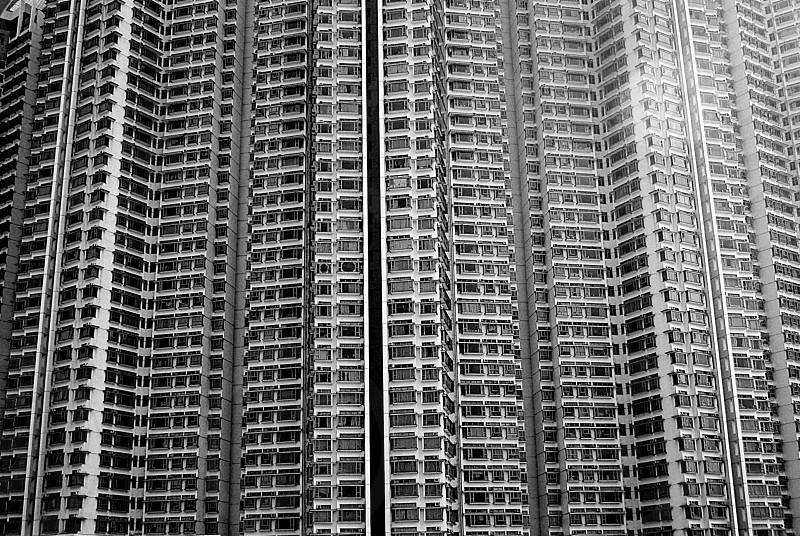 Architecture building windows high-rise photo
