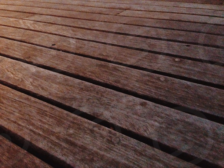 brown wooden plank photo