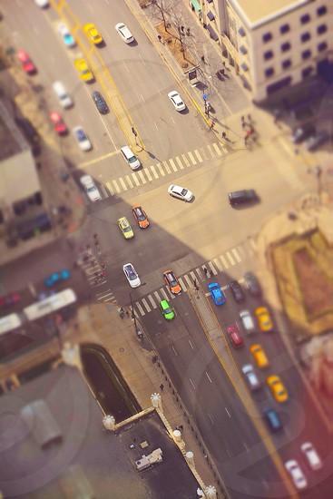 street intersection photo