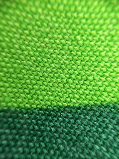 Macro of a green cloth photo