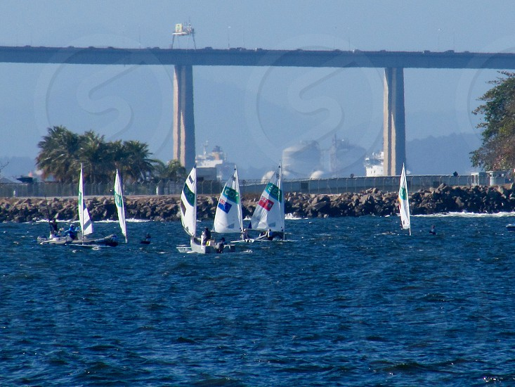 Sailboat competition olympics games rio2016 photo