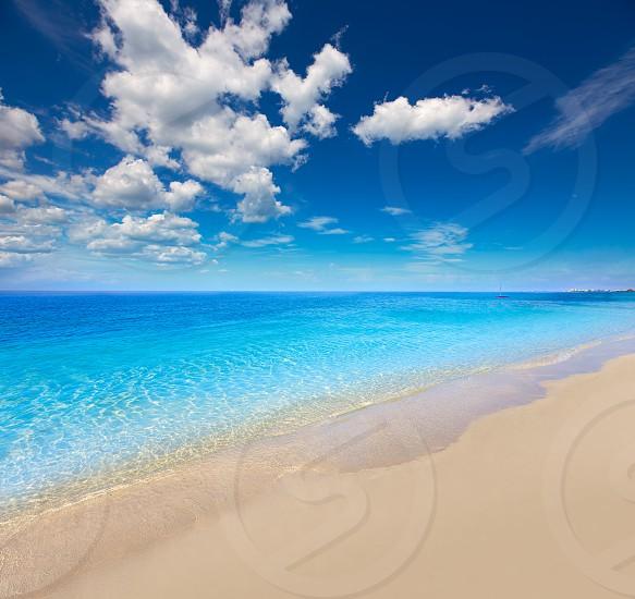 Florida bonita Bay Barefoot beach in USA photo