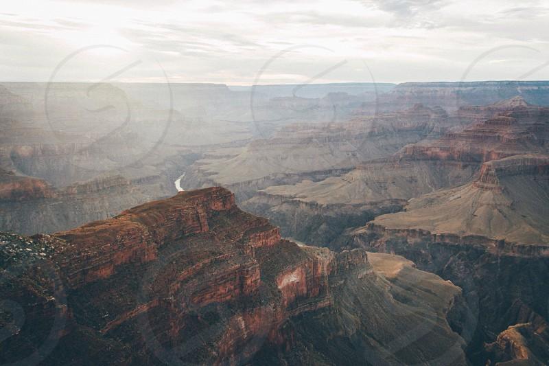 Grand Canyon sunset USA photo