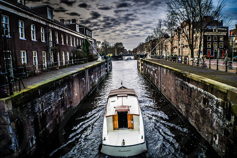Canal Cruiser Amsterdam Netherlands photo