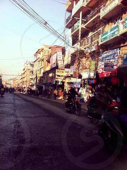 Streets of Nepal  photo