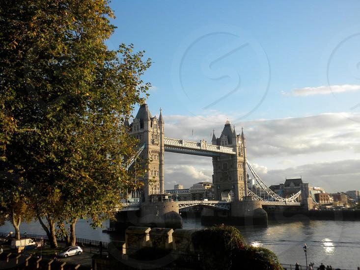 Tower Bridge London.  photo