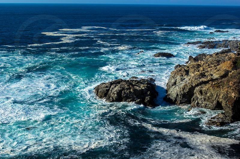 The Big Sur coastline photo