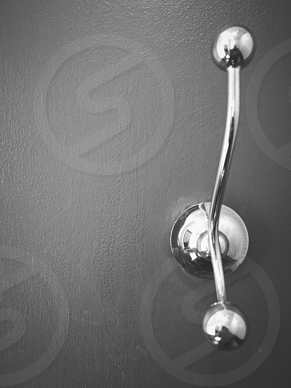 stainless steel wall hook photo