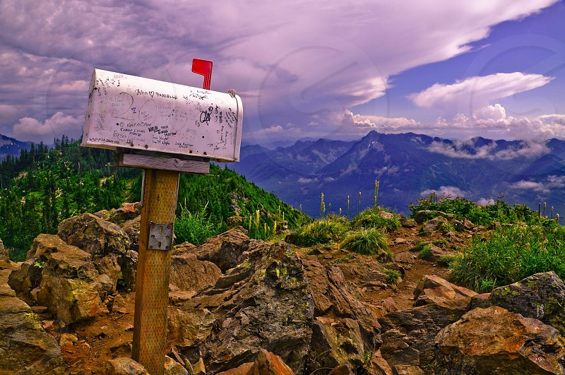Mailbox peak photo