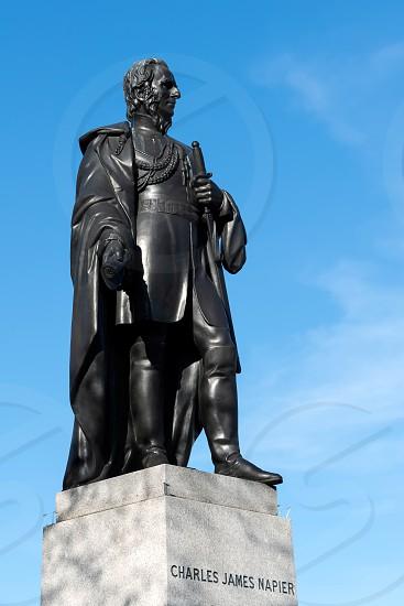 Statue of Charles James Napier in Trafalgar Square photo