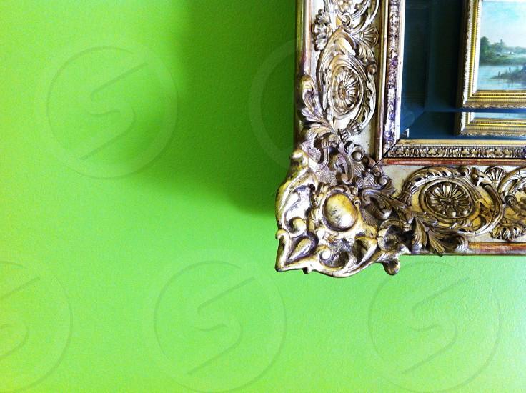 brass wall frame mold  photo