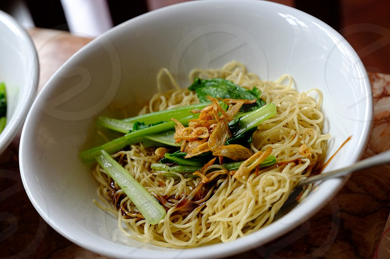 Oyster Sauce Noodles Recipe 蚝油麵 photo
