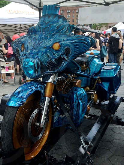 Monster bike photo