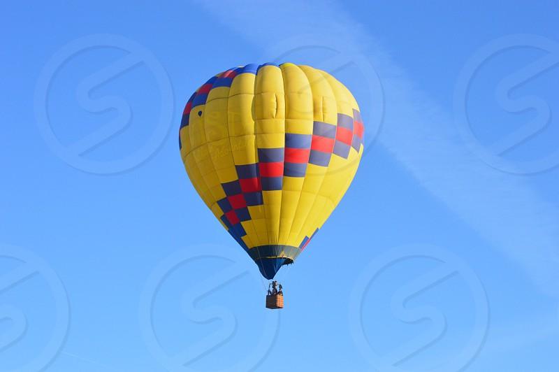 Hot Air Balloon Wooden Shoe Tulip Farm Woodburn OR photo