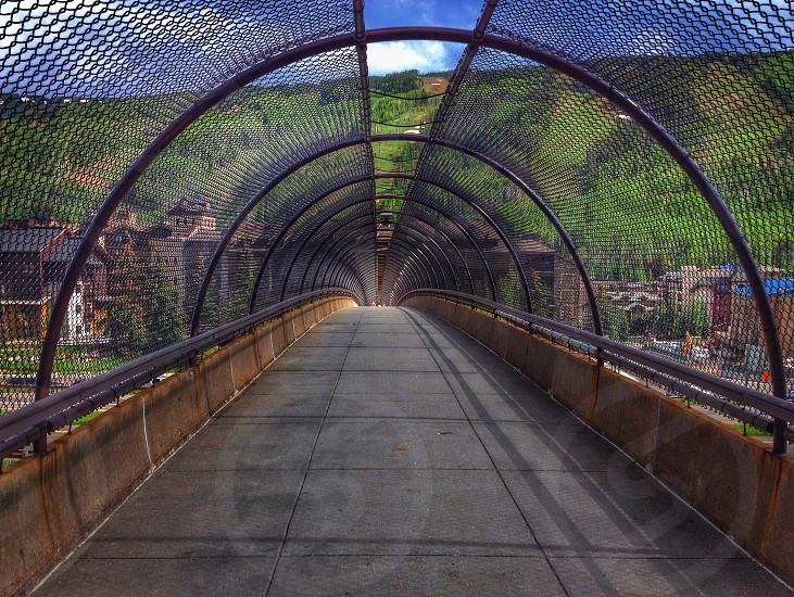 Walkway in Vail Colorado!  photo
