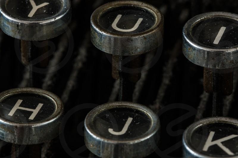 Key of a Type Writer photo