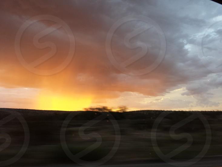 Arizona High Country Sunset photo