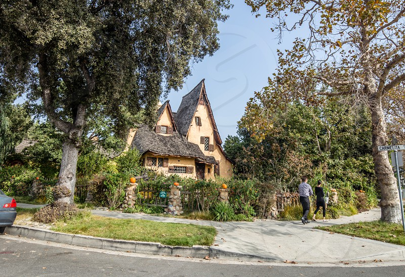 Spadena House in Beverly Hills CA photo
