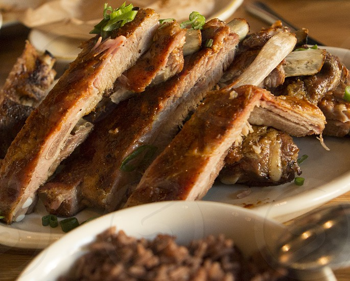 Latin Style  Pork Ribs photo