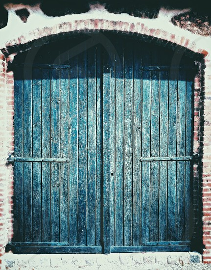Door wooden background  wallpaper old garage carpenter building architecture wall handmade man made  photo