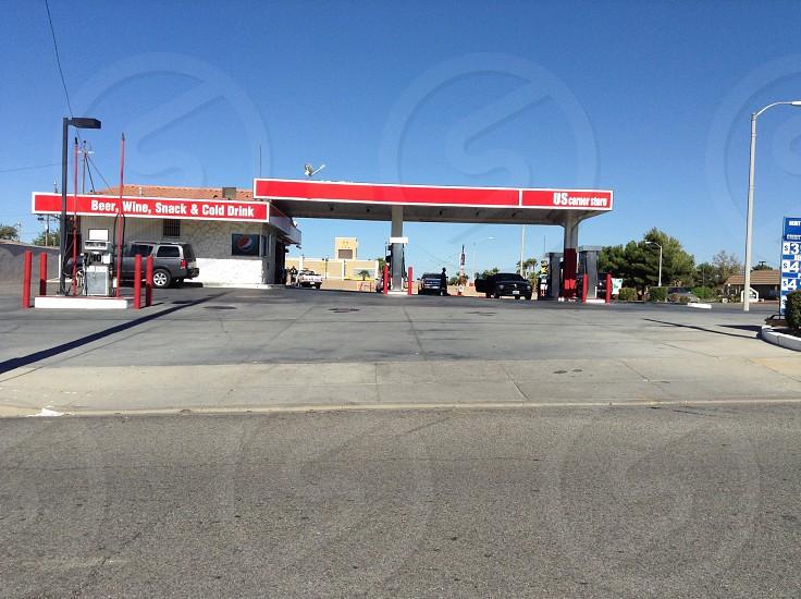 Gas station californi photo