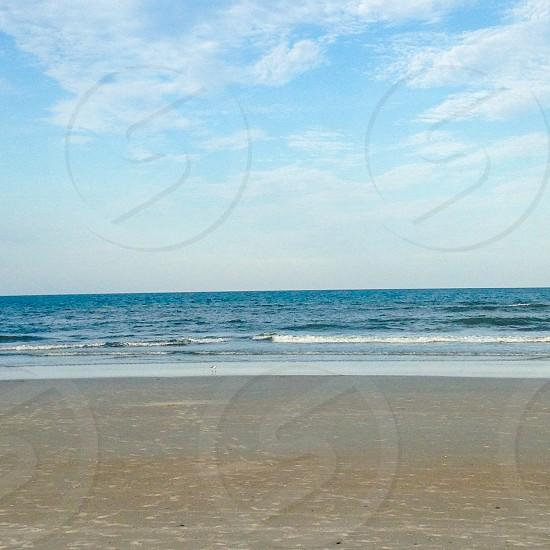 Beachoceansandblue sky's photo