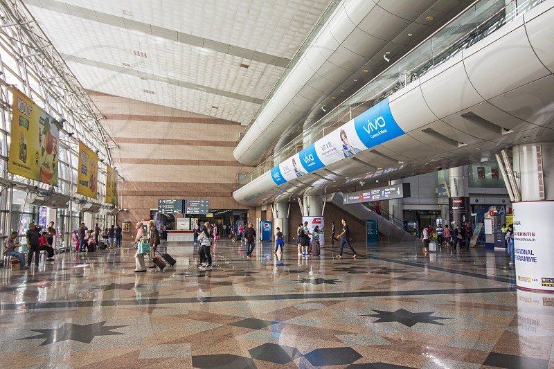 interior structure of kl sentral photo