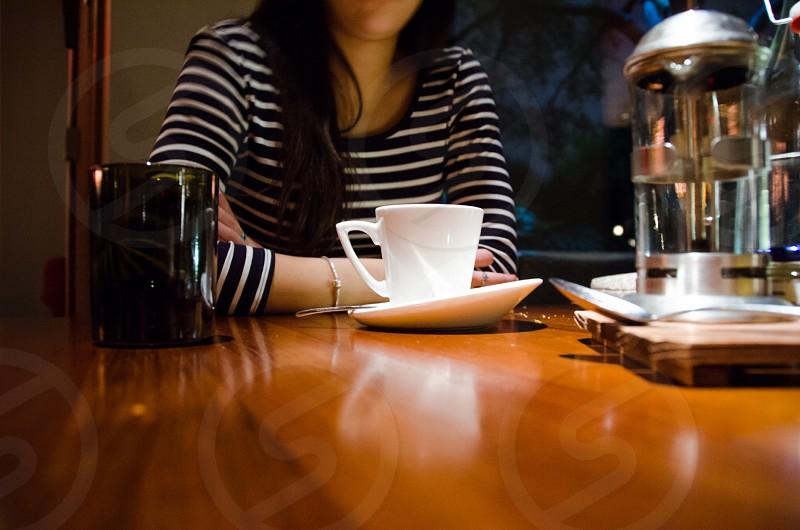 Coffee habits drinking  photo