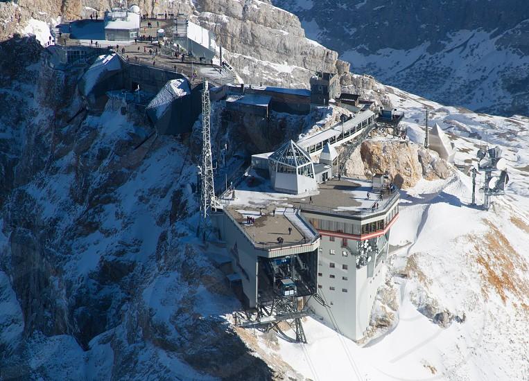 Zugspitze summit facility photo