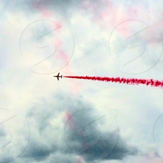 Red Arrows before British Grand Prix 2014 (Silverstone) photo