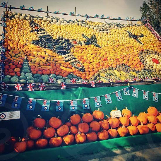 Slindon annual pumpkin display photo