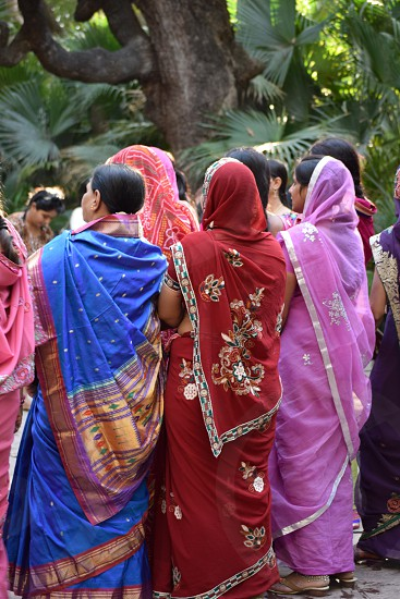 Colorful Saris photo