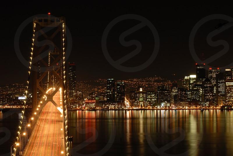 Bay Bridge SF photo