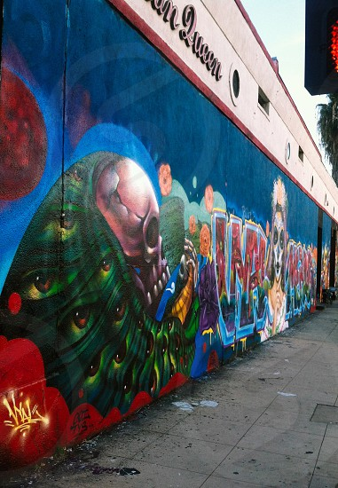 Art piece found at Los Angeles. Artist: Unknown. photo