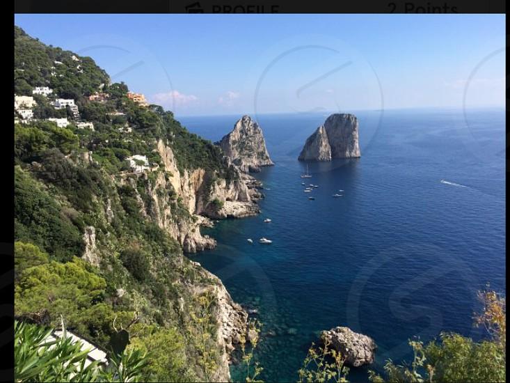 The coast of Italy photo