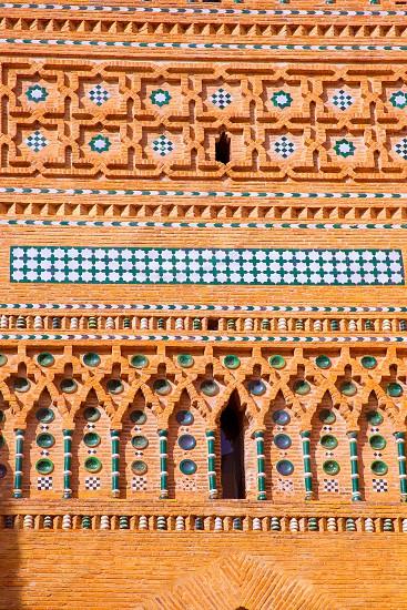 Aragon Teruel Torre de San Martin Mudejar detail UNESCO heritage in Spain photo
