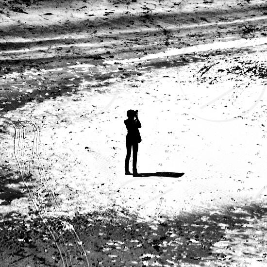 Photographer silhouette  photo