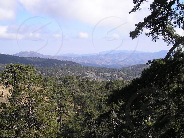 Troodos Mountains Cyprus photo