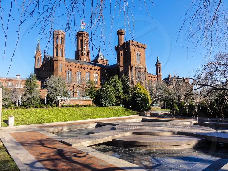 Smithsonian Institution Building - Washington DC USA photo