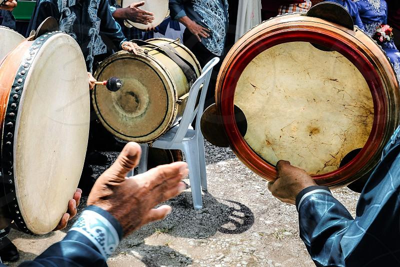 Live drum music photo