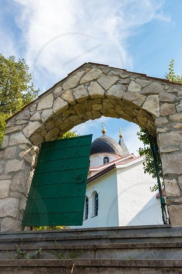 Gate of the Trinity Church Russia Polenovo photo