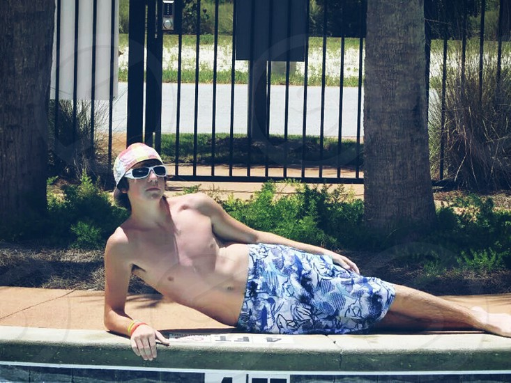 Vacations in Florida can make you feel like a model and celebrity sometimes. photo