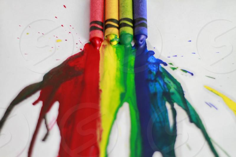 Crayon Melt photo